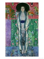 bauer paintings - MRS ADELE BLOCH BAUER II CIRCA by Gustav Klimt Handmade Oil painting Home Decor High quality