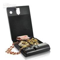 fingerprint safe box - mini Portable Security Box Executive Biometric Fingerprint Safe