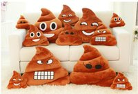 shit - Decorative Cushion Emoji Pillow Gift Cute Shits Poop Stuffed Toy Doll Christmas Present Funny Plush Bolster Pillows