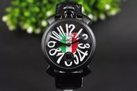 big italy - GAGA New style Gaga milano watches with Italy Flag decoration big dial cm gaga watch for men for women