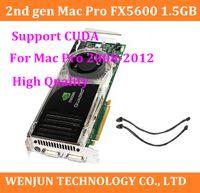 Wholesale 100 Original for Mac Pro Quadro FX5600 GB PCIe x DVI Video Graphic Card nd Gen high quality Support CUDA order lt no track