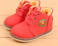 kids snow boots - New Winter Kids Winter Snow Boots baby boys boots baby girls boots Children Sneakers