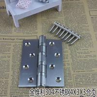 Wholesale Jin Weili imported stainless steel fire door hinge hinge inch thick wooden door hinge bearing a price