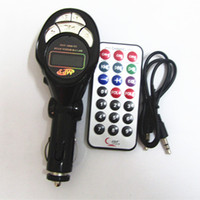 Wholesale USB SD MMC Car MP3 Playercar mp3 Car FM Transmitter with Remote Control