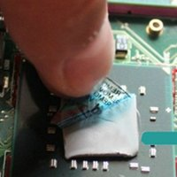 Wholesale 1pc mmx100mmx2mm GPU CPU Heatsink Cooling Thermal Conductive Silicone Pad