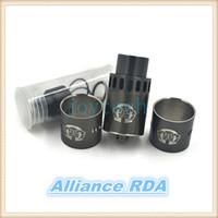 Precio de Rda petri-Alliance RDA Tank Clone 22mm Goteo Atomizador 304 Acero Inoxidable Peek Aislador DIY Ecigarette Vaporizador para SMPL, remolcador, petri mod