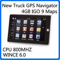 australia player - 5 inch Car GPS Navigation Truck Navigator Key GPS Media Player FM G Maps WinCE Global Positioning System