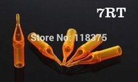 Wholesale USA Dispatch Sterile Disposable Tattoo Tips Nozzles Round RT For Beginner Tattoo Kits Supply