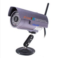 Wholesale Wireless Outdoor Waterproof Nightvision IR WIFI IP Network Camera AU Plug Webcam Web Security CCTV Surveillance wxq54