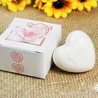 Wholesale 1pcs mini Cute Love Heart Scented Soap Wedding Gifts Wedding Souvenirs Festival Gifts Baby Shower Gifts A2