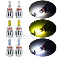 Wholesale 2PCS W bulb LM Auto Cree LED H11 H8 H9 Car Headlights Lamp K K K Lamp All in One Aluminum C30
