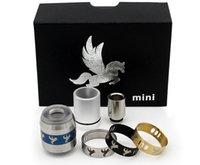 brass horse - 2015 New Mini Dark horse RDA Rebuildable Dripping kit mini with rings Electronic Cigarette sets brass e cig kits e cigarette