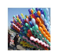 Wholesale The balloon thickened helical happy birthday party celebration supplies balloon