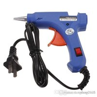 Wholesale 20W V Professional Mini Electric Heating Hot Melt Glue Gun With Glue Sticks