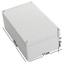 Wholesale 20X11X7 cm Junction Box Instrument Chassis Instrument Housing Sealed Box Plastic Housing Waterproof Plastic Enclosure Case
