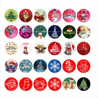 Wholesale newest Christmas snap button jewelry charm popper for bracelet GL034 noosa jewelry making supplier