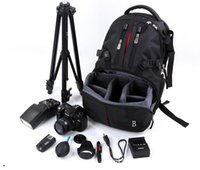 video tripod - 2016 hot sell camera video backpack for photography high quality waterproof photo backpack bag for men women travel outdoor backpack