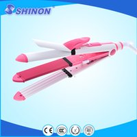 best iron curlers - Shinon lovely pink color hair irons with functions best for girls