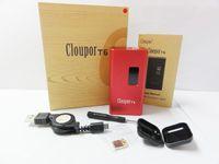 Cheap 100W !!! 100% Original Cloupor T6 100W mod box the magnet back cover suit for 26650 battery mod box VS kamry istick ZNA DNA DOVPO SMY mod