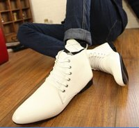 Cheap 2014 High in the fall and winter of the new men for leather shoes Casual Shoes with pointed with British fashion dress shoes