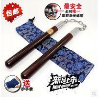 martial arts weapons - Bruce Lee Solid wood Nunchucks Nunchakus Martial Arts Pracetice Training Weapon