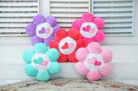 Wholesale 6 Pieces Petals Colorful Plush Stuffed Love Cushions Sofa Cushions Chair Cushions Home Seat Price and Retail