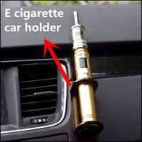 Wholesale SELLER Black and white Acrylic Stand shelf Car Holder for E Cigarette Mechanical Mod