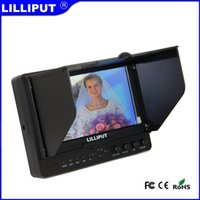 Wholesale Lilliput HDMI Camera Monitor For Shooting View Aperture inch Screen hdmi input