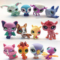 random color best toys shop - 500pcs Hasbro Toy High Quality Littlest Pet Shop Animals Figures Toy Girl s Best Gift Q Pet c