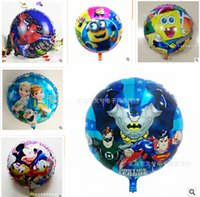 inflatable christmas - 88 Styles Christmas Balloons Superman Frozen balloons for Party Decoration Helium MickeyShaped Foil Minions Mickey balloons Inflatable toy