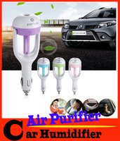 Wholesale New Creative Gift ml Portable Mini Car Humidifier Air Purifier Essential Oil Diffuser Aromatherapy Mist Maker Car Accessories