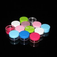 best cheap cosmetics - 10g plastic container PS jar cosmetic bottle mix more colors cheap cosmetic bottle Find best g pl
