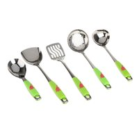 Wholesale New High Quality Stainless Steel Kitchenware Suit Cookware Set Shovel Spoon Kitchen Accessories Utensils set Cooking Tools order lt no