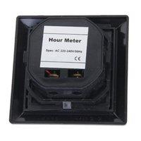 Wholesale AC V Square Non Resettable Quartz Sealed Hour Meter Gauge Wonderful Gift