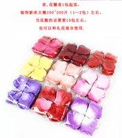 Wholesale Colorful Silk Rose Flower Petals Wedding Favors Festival Party Decoration bag