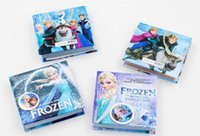 Wholesale Frozen Notebooks Multi Style Size Anna Elsa Princess Cartoon Cover Memo Pad Kids Book New Term Gifts School Supplies Pocket Books Free DHL