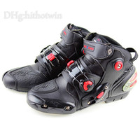 Wholesale 2015 High quality Microfiber Leather motorcycle boots men motocross Racing shoes boots Moto Chuteiras Size