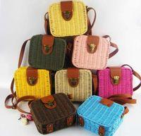 tartan plaid ribbon - Designer Bags Handbags for Women Luxury Straw Ladies Handbags Beach Bag with Shoulder Crossbody Bags Metal Hot Sell