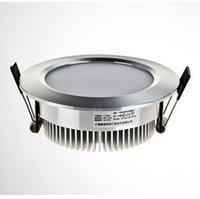 Wholesale 200pcs W LED Downlight ceiling spotlight AC85V V CE ROHS Warm White Cool White order lt no track
