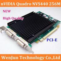 Wholesale Workstation Professional Video Card nVIDIA Quadro NVS440 M B PCI E FOR Screens NVS warranty year order lt no tra