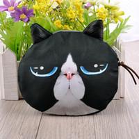 mini purses - 2015 New Girls Cute Fashion Women Coin Purse Cat Animal Print Mini Wallet Zipper Closure Small Clutch Bag B0101