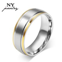 Wholesale fashion wedding rings for women brand simple jewelry stainless steel christmas gifts