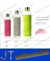 glass water bottles - NEW hot sell Outdoor sports cup ml Insulated glass water bottle Advertising Cupm Creative Glass cup MYY12992A