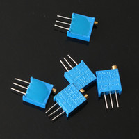 Wholesale New value W Potentiometer Assorted Kit Variable Resistor ohm