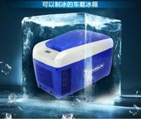 Wholesale Unique Top Grade Car refrigerator home fridge freezer icebox HOT and COLD box dual use L v v