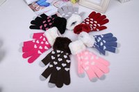 Wholesale Retail Box Touch Screen Gloves mobile phone Gloves For Unisex Warm Winter for Iphone ipad For samsung Capacitive Smart Phones