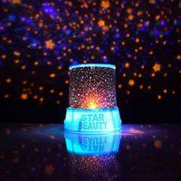 Wholesale Night The Light Led Night Lights Christmas Gift Romantic Star Sky Universal Blue Amazing Chidren Dreamlike Projector
