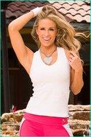 gym vest - 2015 Gym vest Running vest milk silk backless women yoga sportwear Gym vest Jogging Sports Vest Yoga Tank Tops Free size S407L