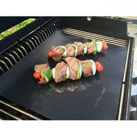 Wholesale 2Pcs BBQ Grill Mat Easy Bake NonStick Grilling Mats Supply