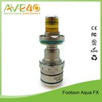 aqua tank tops - Authentic Footoon Aqua FX Top Filling Tank ML ML VS FreeMax Scylla Sub Ohm Tank with FGCC Coil DHL